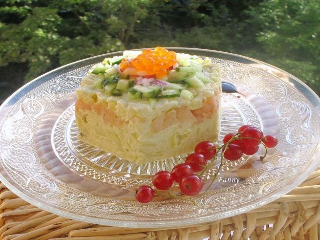 вкусные порционные салаты рецепты с фото