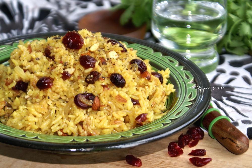 Persian Cranberry Rice Pilaf