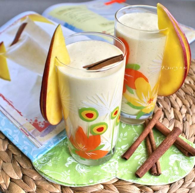 смузи с манго и корицей