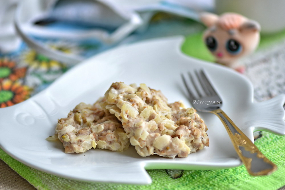 Diet baby Turkey meatballs with zucchini