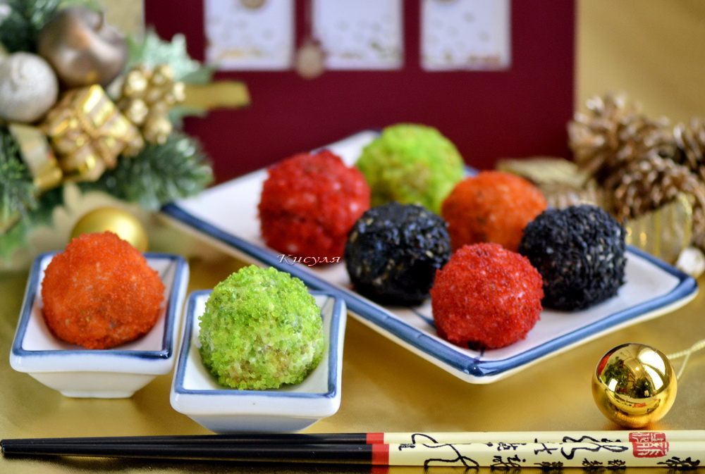Sushi balls (without rice)